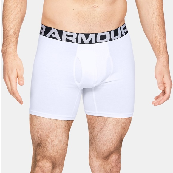 Familiarizarse Lectura cuidadosa kiwi  Under Armour Underwear & Socks | Under Armour Boxerjock White Boxer Briefs  277238 | Poshmark